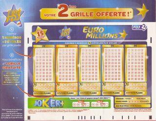 Grille euromillion suisse